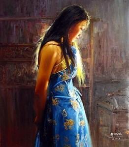 Sunsetset Thoughts by Xie Qiu Wa
