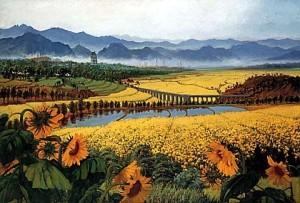 Scenery by Wu Zuoren