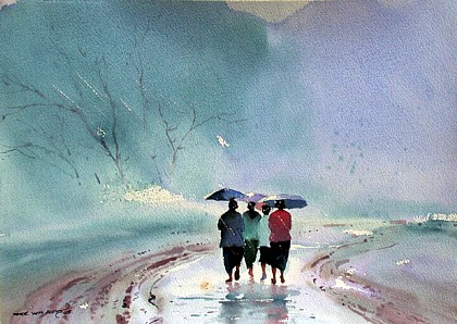 Rainy Day II by Myoe Win Aung