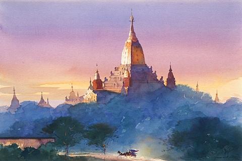 Ananda Pagoda by Myoe Win Aung