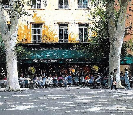 Les Deux Garcones Aix-en-Provence by Jeremy Barlow