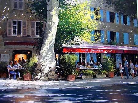 Restaurant Contignac by Jeremy Barlow
