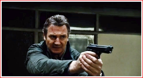 liam-neeson-holding-his-big-gun-in-taken-2-movie | The Arts