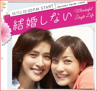 Promo Poster for kekko Shinai aka Wonderful Single Life or Don't Get married