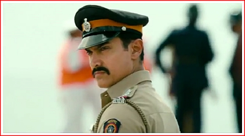 Bollywood A-Lister Aamir Khan as Inspector Shekhawat