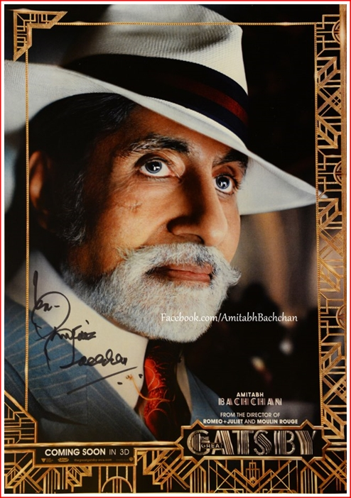 """Big B' - with the unnervingly sparkling eyes"