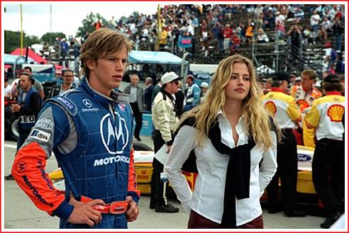Kip Pardue and Estella Warren