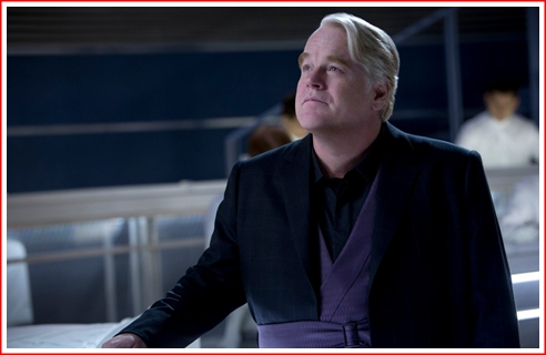 PSH as Plutarch Heavensbee. Good, not great, not bad - just good