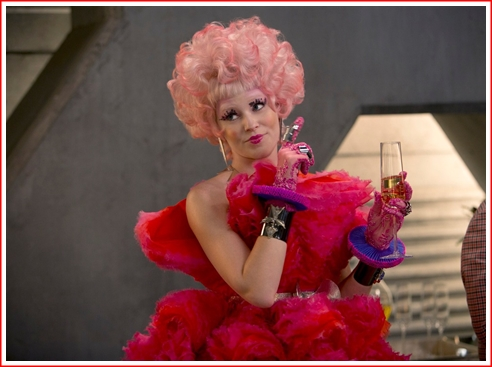 Effie Trinket - a Lady Gaga on steroids?
