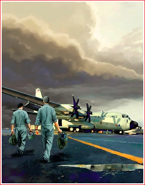 Hurricane Hunters by George Angelini