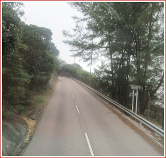 The Road to Shek-O Beach