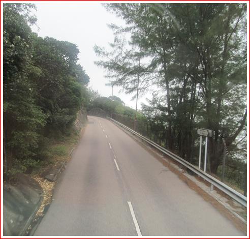The Road to Shek-O Beach