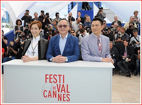 Sammi Cheng, Johnnie To & Andy Lau