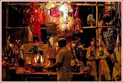 SHEUNG WAN - GHOST SPIRIT ALTAR