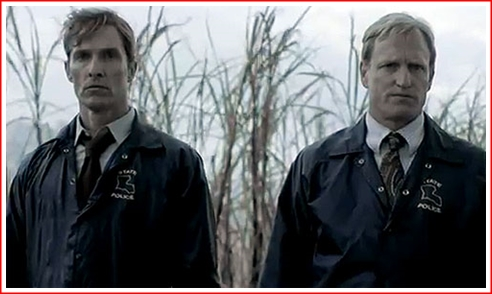 the premiere of the new prime time show on hbo called true detective