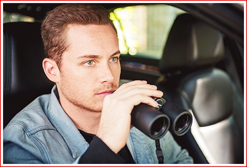 Halstead on a stakeout