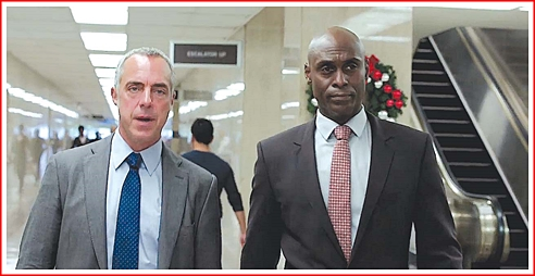 Bosch with Deputy Chief Irvin Irving played by Lance Reddick