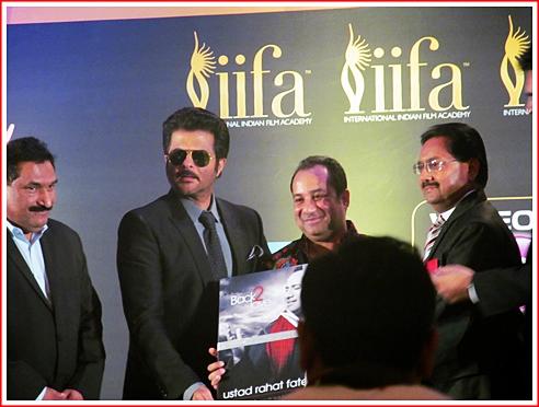 Ustad Rahat Fateh Ali Khan launches his new album