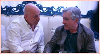 Mr. Kher with De Niro - For Press