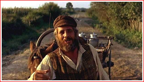 Topol as Tevye telling us about traditions