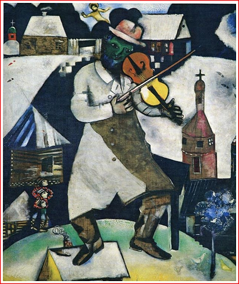 The Fiddler by Marc Chagall