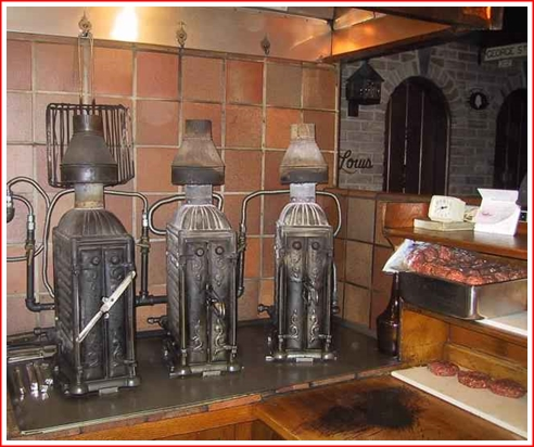 The stoves - made in 1898