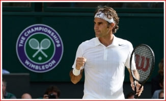 Federer moves into the Wimbledon Final against Djokovic