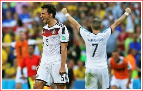 That's Mats Hummel (#5) who scored the winning goal for Germany