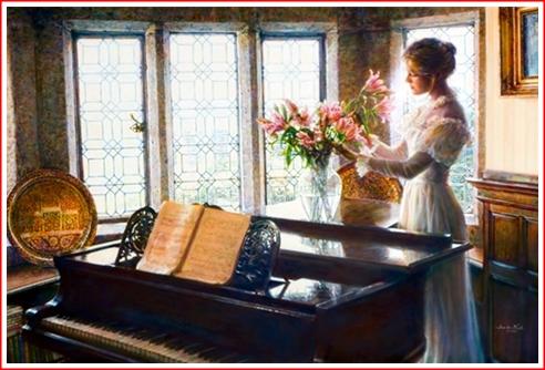 Flower Arrangement by Sandra Kuck