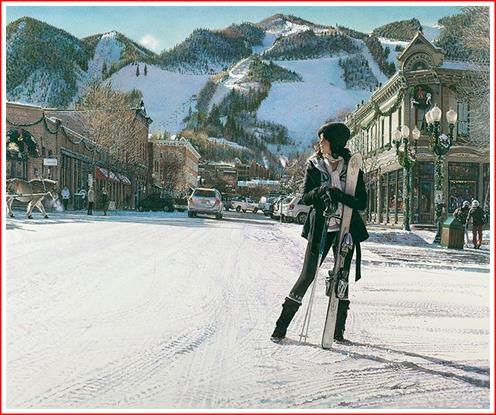 Aspen Winter by Steve Hanks