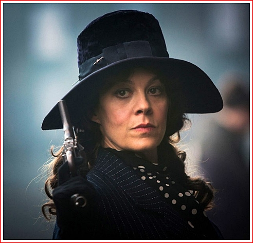 Aunt Polly: She ran the Shelby Operations while the men were off to Flanders Fields and WWI. She was in charge for five years. Helen McCrory has the role.