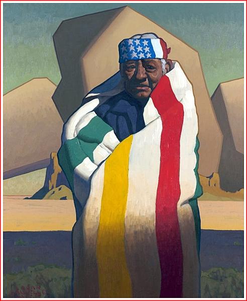 Logan Maxwell Hagegee Navajo Patriot