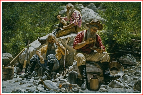 Miners at Lunch - Alfredo Rodriguez
