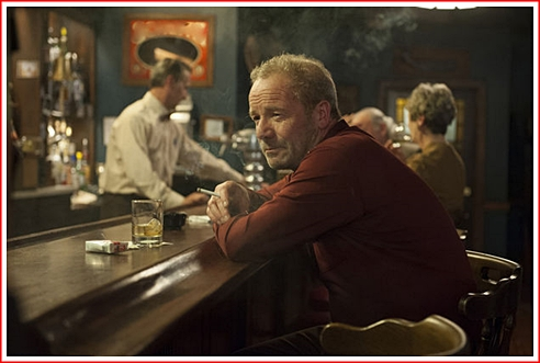 Peter Mullan as the teacher at the same school where Olive taught