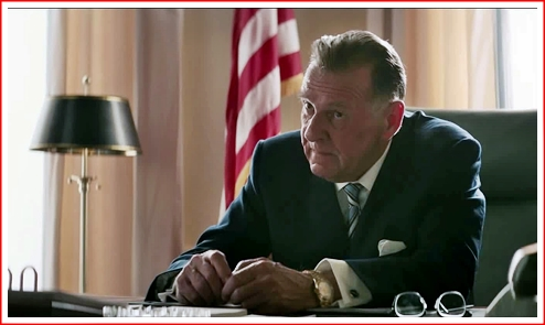 Tom Wilkinson as Lyndon Johnson