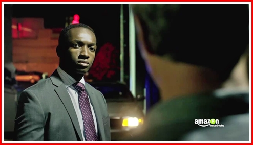 Jamie Hector who played the bad guy Marlo Stanfield on The Wire is Bosch's partner Jerry Edgar
