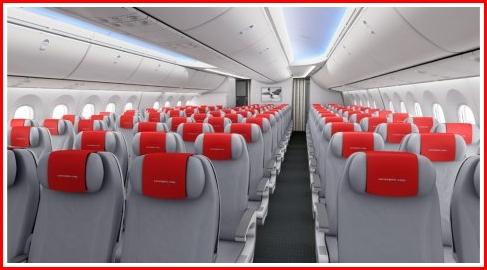 787 Dreamliner cabin