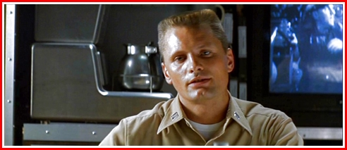 Viggo as Ince, the Weapons Officer