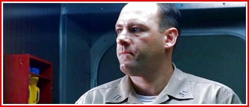 James Gandolfini as Daugherty, the Supplies Officer