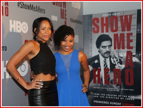 Natalie Paul as Doreen and Dominque Fishback (in blue) as Billie
