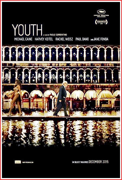 One of Sorrentino's more playful images. WE watch as Fred Ballinger (Caine) navigates his way across St. Mark's Square in Venice. Before he can traverse the whole square, the water floods in an he's nearly up to his waist in seconds before it gets words