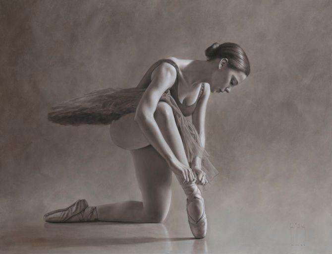 Ballerina in Monochrome