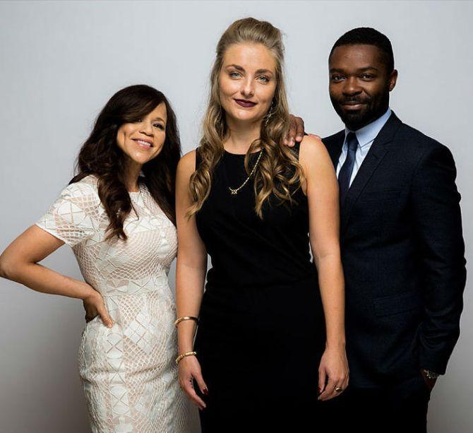 Rosie Perez, Director Maris Curran, and David Oyelowo