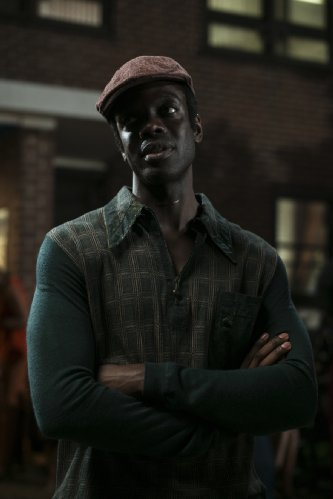 Ato Essandoh as Lester Grimes - one of Finestra's earliest signings and also one of Finestra's earliest victims
