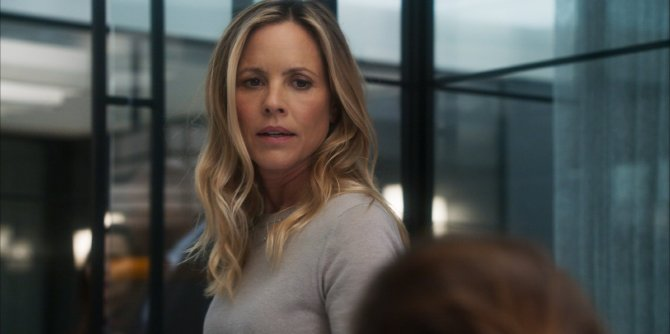 Billy's ex-wife played by Maria Bello