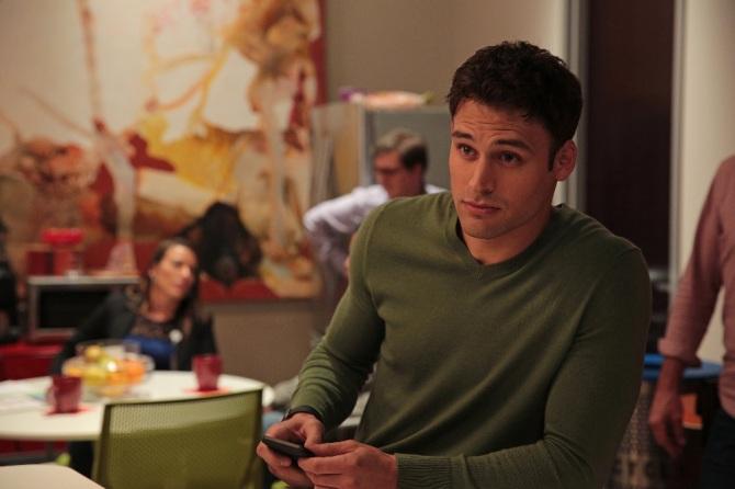 Ryan Guzman as the boss's son
