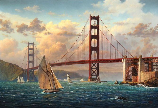 Golden Gate 3 by Clinton Broyles
